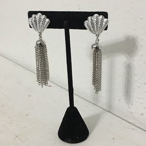 Sarah Coventry Silver Tone Clip-on Earrings